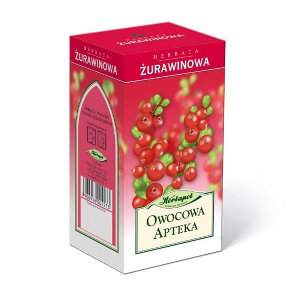 Żurawinowa Fix - 3g x 20 sasz. Herbapol Lublin
