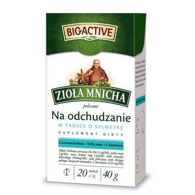 Zioła Mnicha na odchudzanie - STARANNIE DOBRANA RECEPTURA