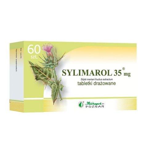 Sylimarol 35mg, 60 draż.