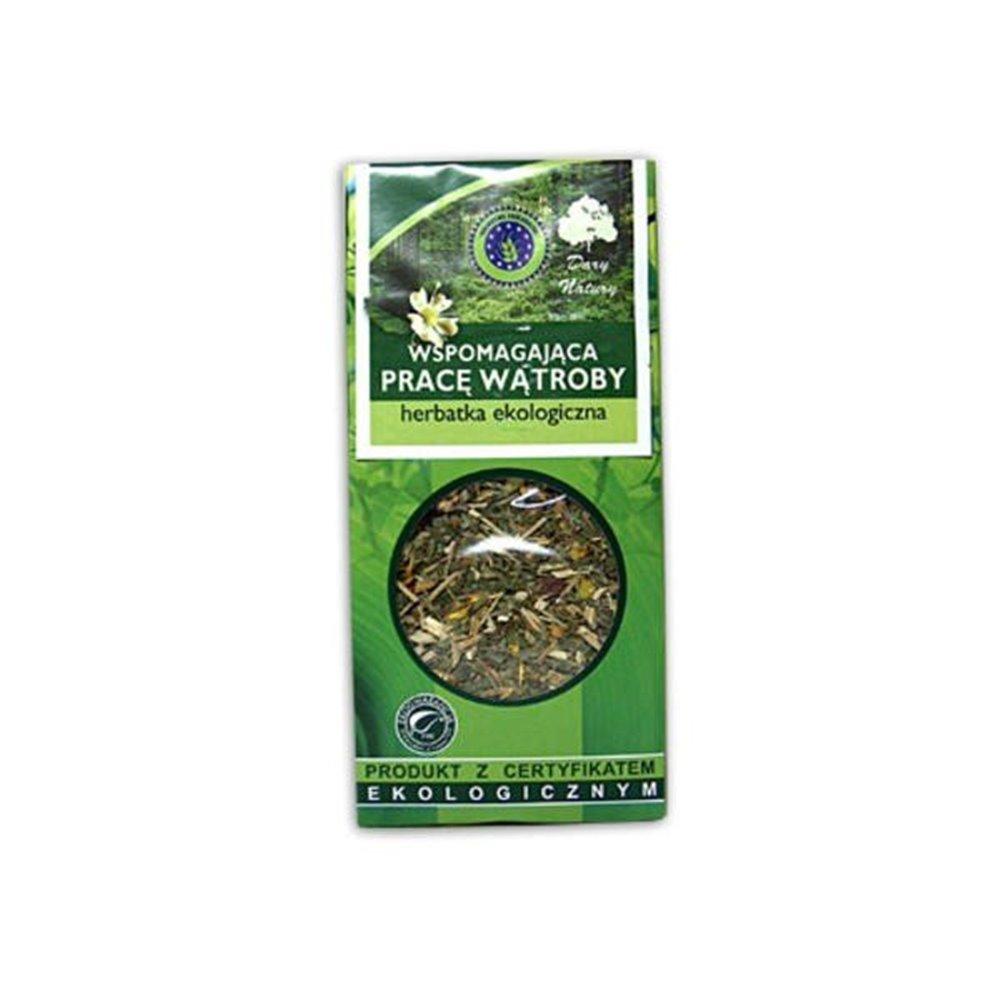 Herbatka ekologiczna wspierająca wątrobę 50g