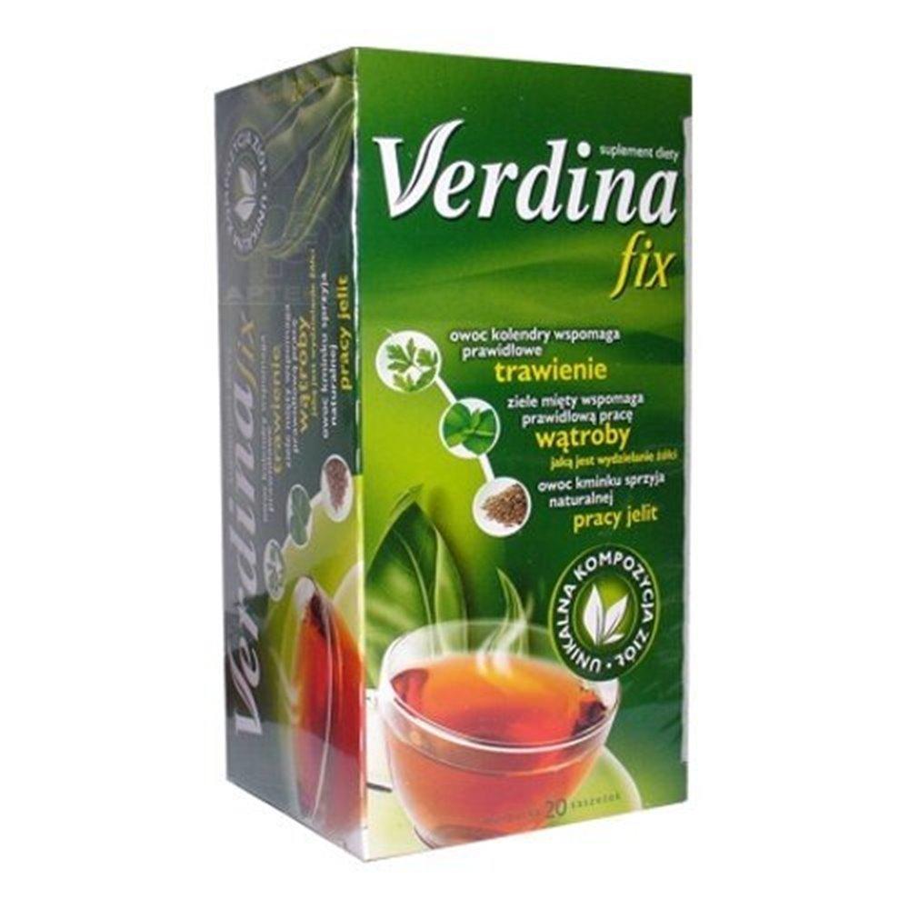 Verdina FIX 20TBx2g - pomoc dla układu trawiennego