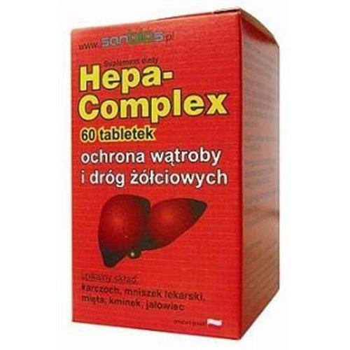 Hepa-Complex, ochrona wątroby 60 tabl.