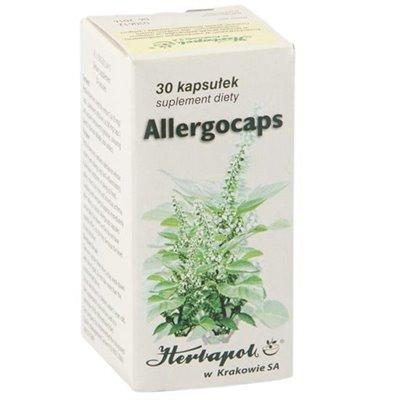 Allergocaps - kasułki na alergie 30kaps.