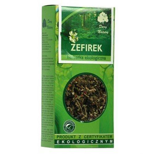 Zefirek 50g - herbatka ekologiczna na wzdęcia