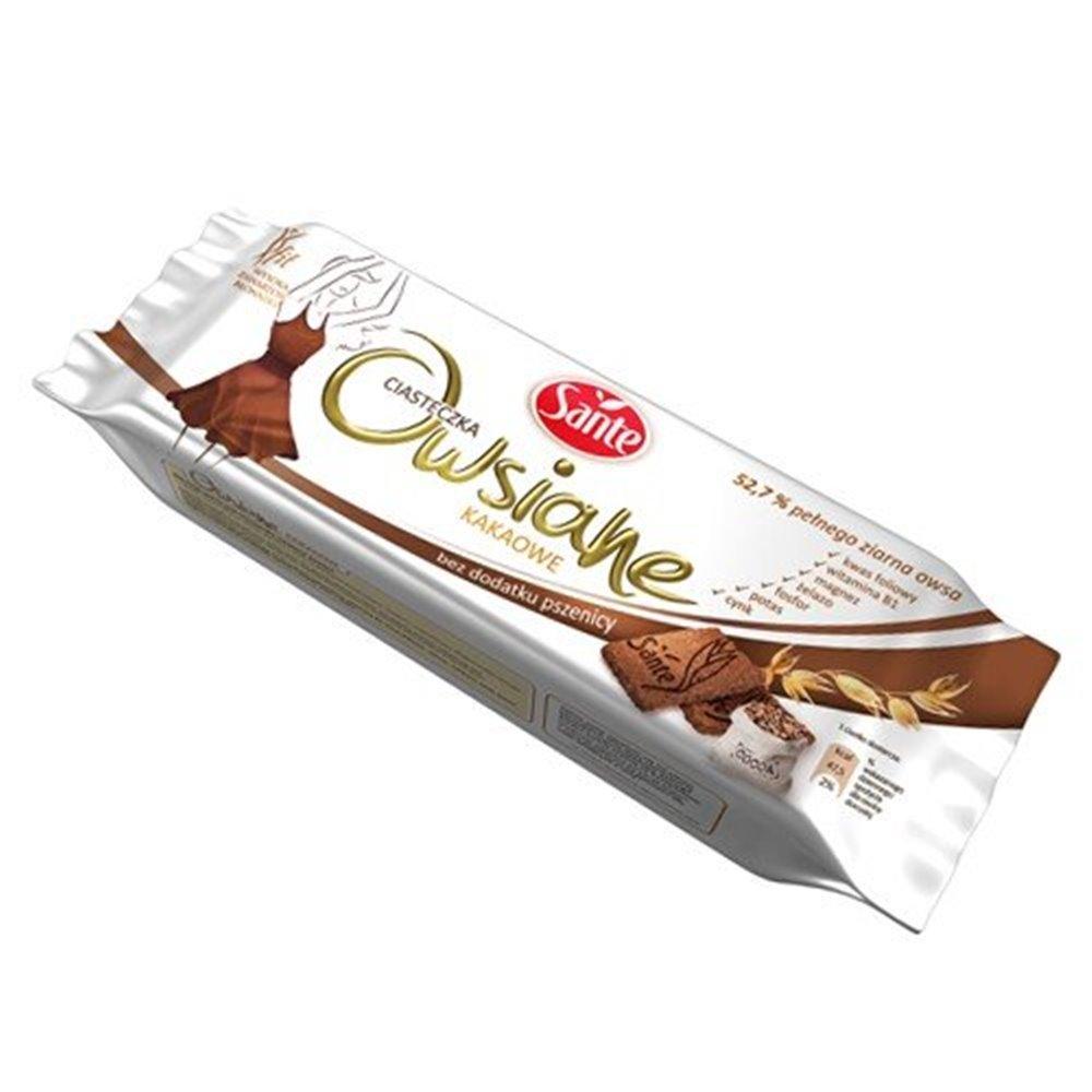 Ciasteczka owsiane kakaowe 135g