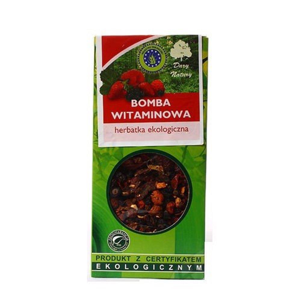 Herbata ekologiczna Bomba Witaminowa 100g