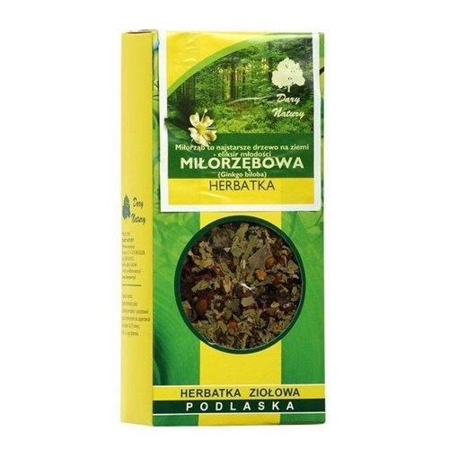 Herbatka Ekologiczna Miłorzębowa 50g