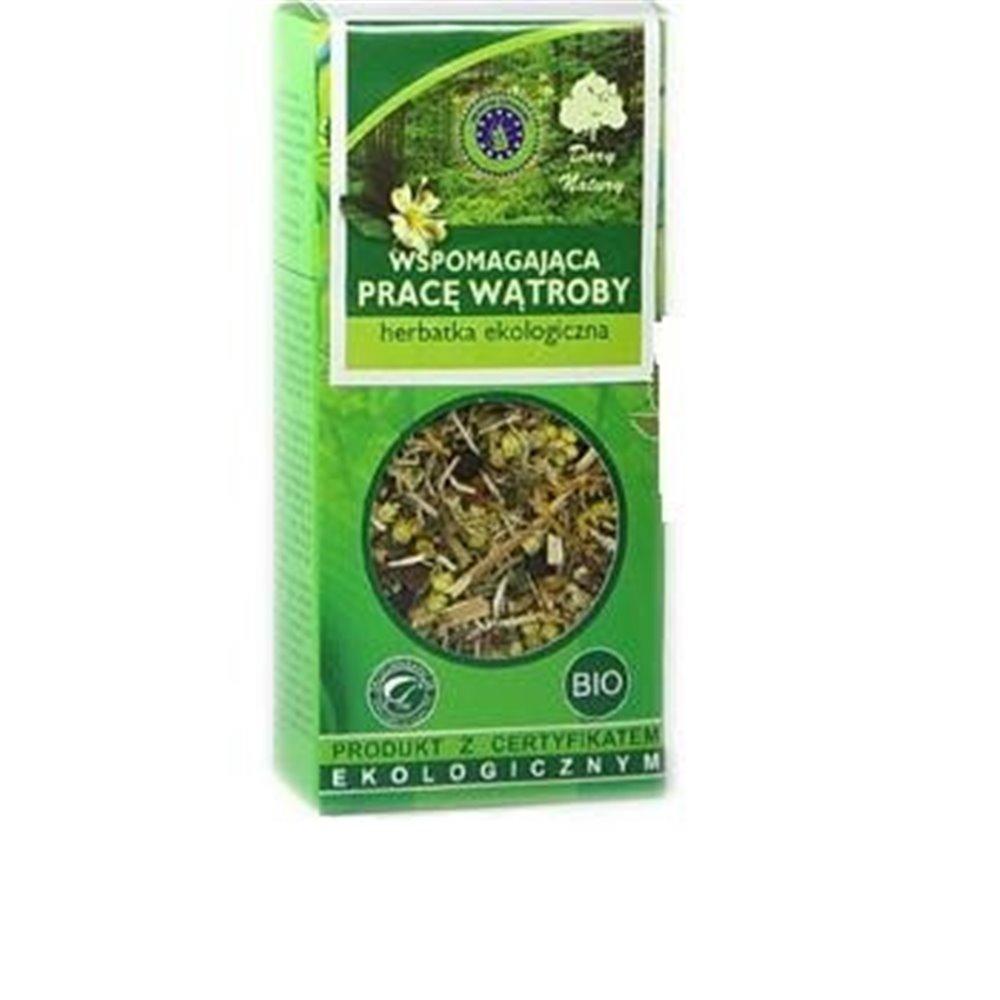 Herbatka Ekologiczna Wspomagająca Pracę Wątroby 50g
