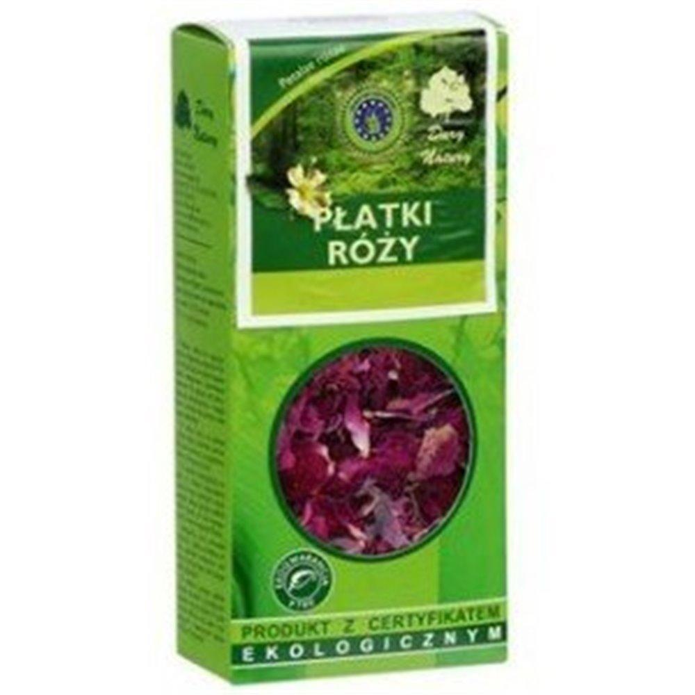 Herbatka Ekologiczna Płatki Róży 20g