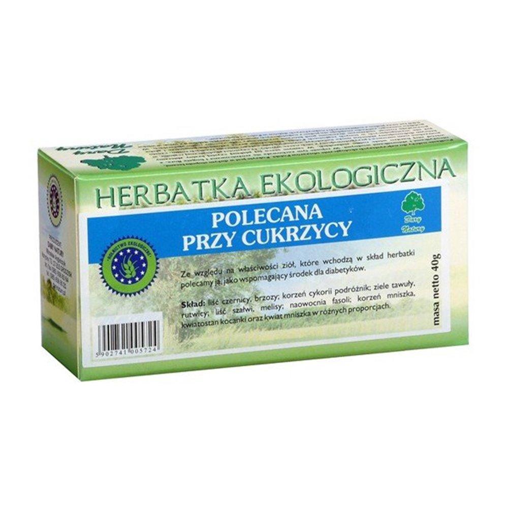 Herbatka Ekologiczna przy Cukrzycy fix 20x0,2g