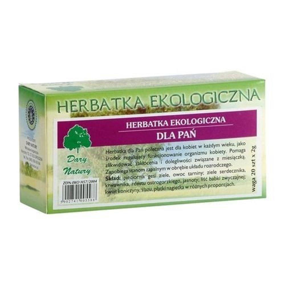 Herbatka Ekologiczna dla Pań fix 20x2g