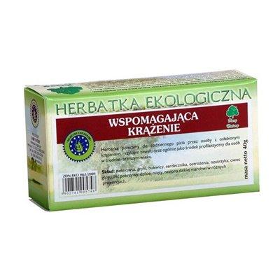 Herbatka Ekologiczna Wspomagająca Krążenie fix 20x2g