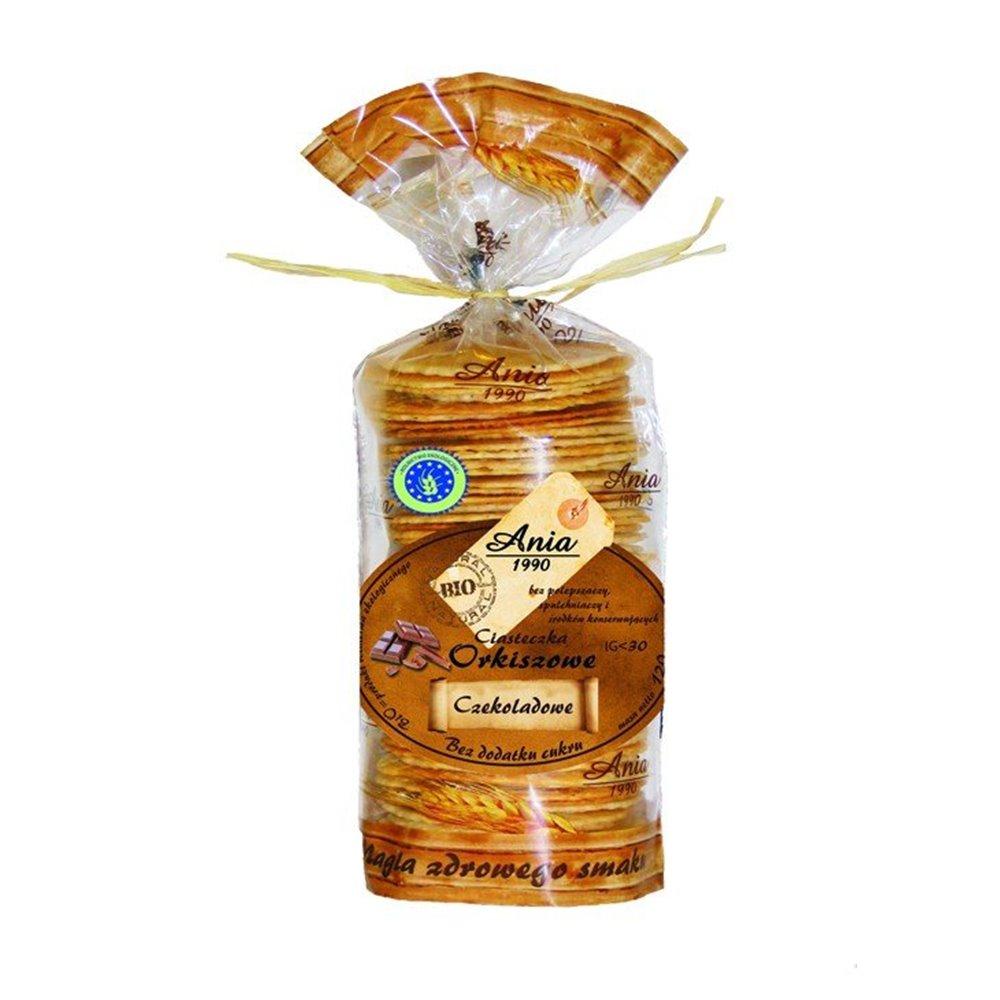 Ciastka Orkiszowe kawowe 120g