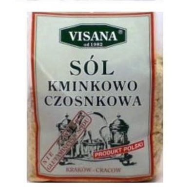 Sól Kminkowo - Czosnkowa  175g