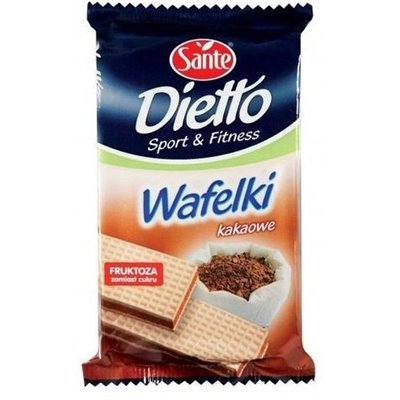 Wafle Kakaowe bez cukru 85g