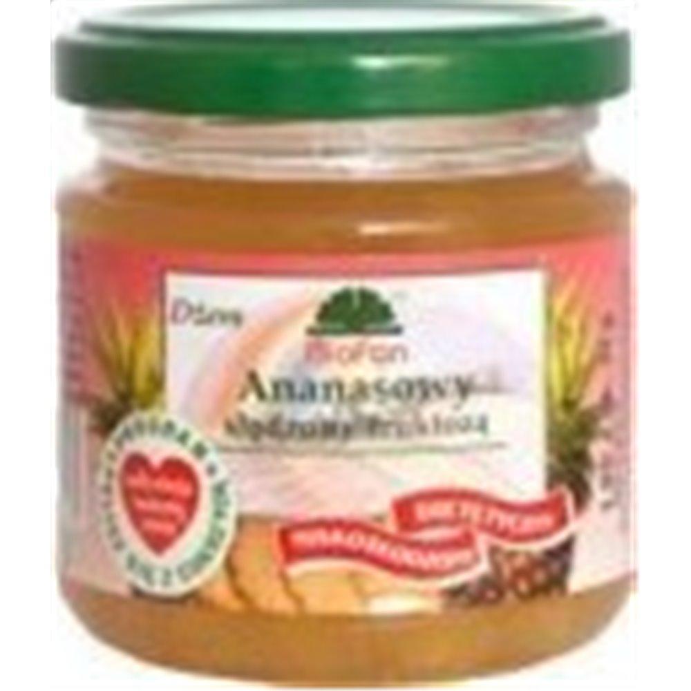 Dżem Ananasowy bez cukru 195g