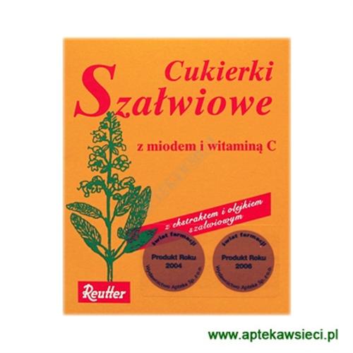 Cukierki Szałwiowe 50g