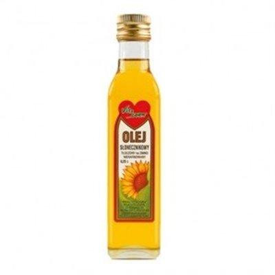 Olej Słonecznikowy zimnotłoczony 250ml