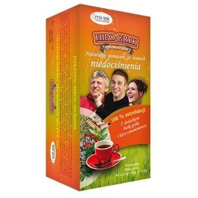 Herbata Hipo-Gryk 60x2.5g