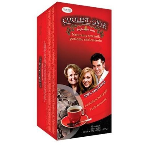 Herbata Cholest-Gryk 60x2.5g