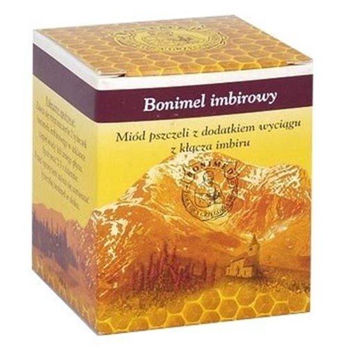 Miód Bonimel Imbirowy, miód leczniczy 250g
