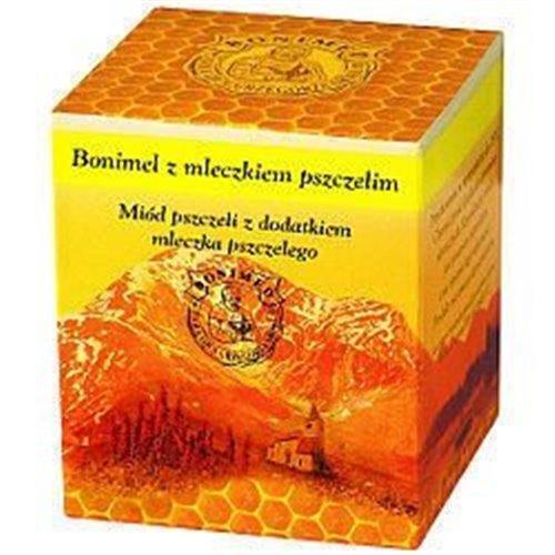 Miód Bonimel z Mleczkiem Pszczelim, miód leczniczy 250g