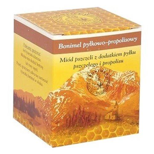 Miód Bonimel Pyłkowo-propolisowy, miód leczniczy 250g