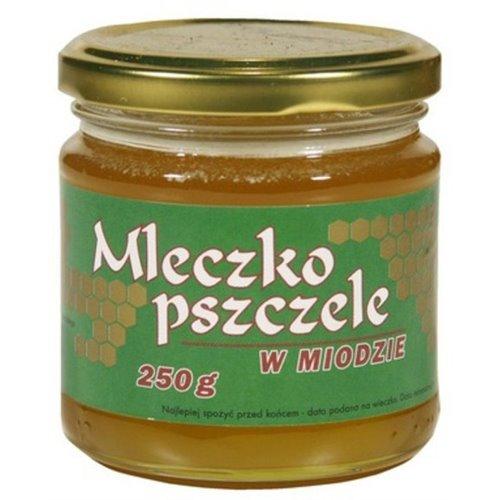 Miód z Mleczkiem Pszczelim 250g