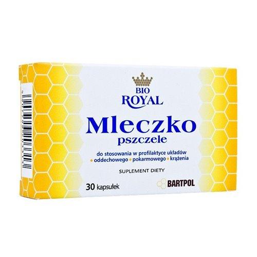 Mleczko Pszczele 30 kaps.