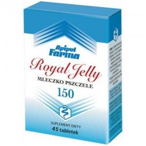 Mleczko Pszczele 150 Royal Yelly 45 tabl.