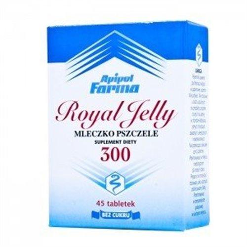 Mleczko Pszczele 300 Royal Yelly 45 tabl.