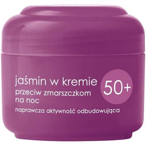Jaśmin w Kremie przeciw zmarszczkom Noc 50+, 50ml