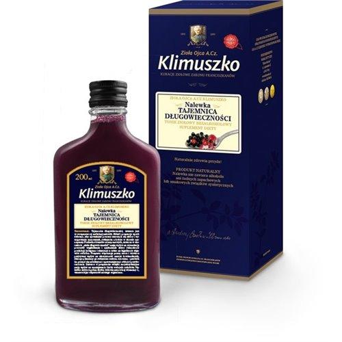 Nalewka Długowieczności - tonik ziołowy Ojca Klimuszko 200ml