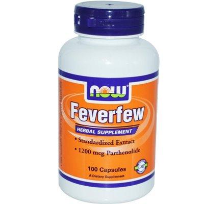 Feverfew 100 kaps. Now Foods