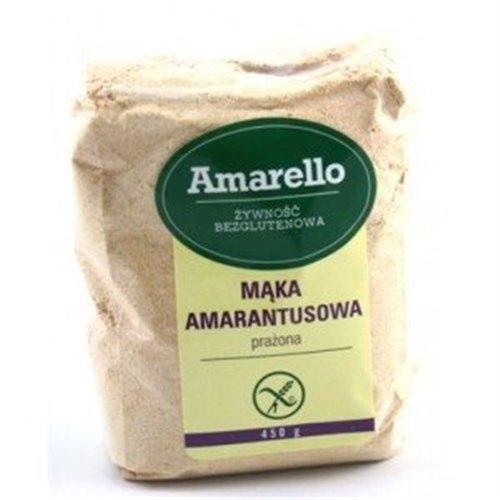 Mąka Amarantusowa Bezglutenowa /prażona350g