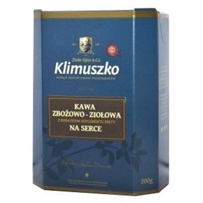 Kawa zbożowo-ziołowa na serce 200g Klimuszko