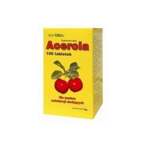 Acerola 100 tabl SANBIOS