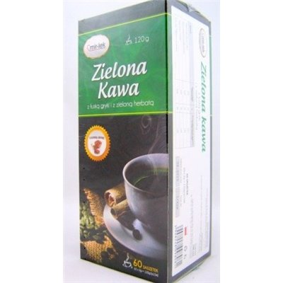 Zielona Kawa z gryką fix 60torebek