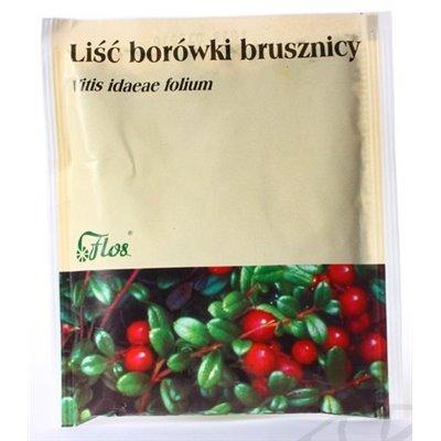 Borówka Brusznica Liść, Liść Borówki Brusznicy 50g
