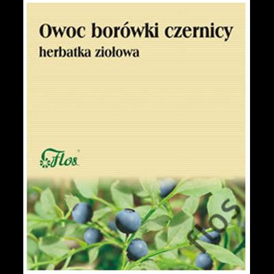Owoc Borówki Czernicy, Borówka Czernica Owoc 50g