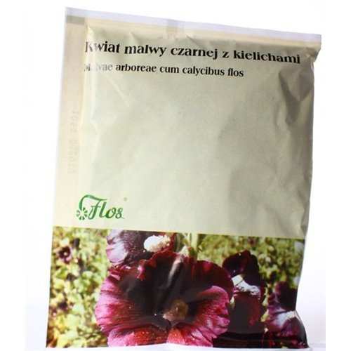 Malwa Czarna Kwiat, Kwiat Malwy Czarnej z kielichami 50g