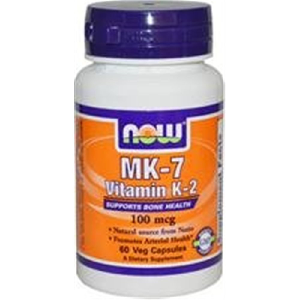 Witamina K2 MK-7 100 mcg 60 kap. NOW