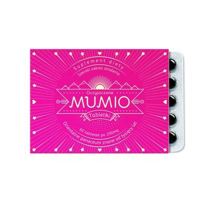 Mumio oczyszczone - suplement diety 60tab