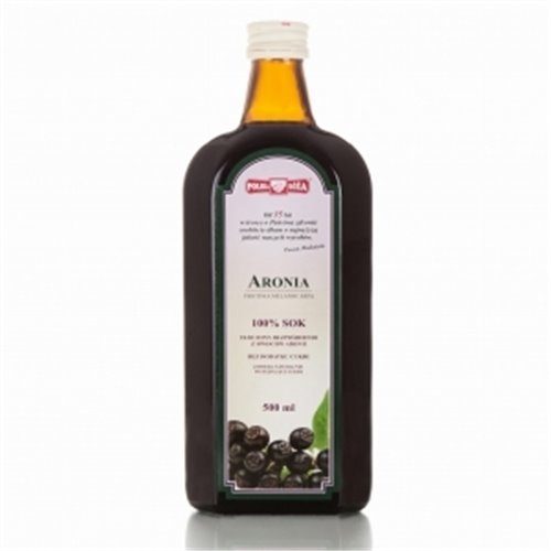 Aronia sok 100%  bez cukru 500 ml