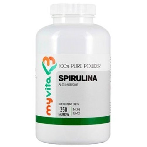 Spirulina algi 250 mg, Proszek, 250 g