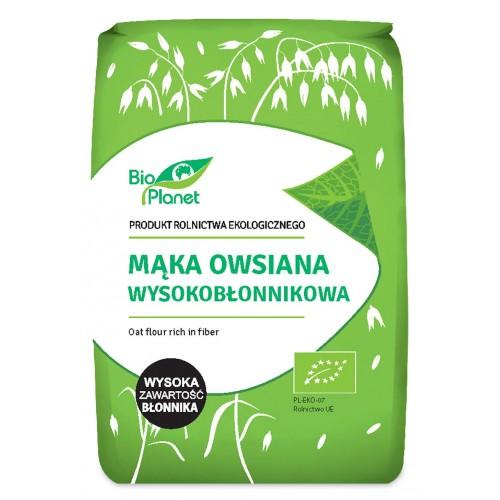 Bio Planet mąka owsiana wysokobłonnikowa BIO 1kg