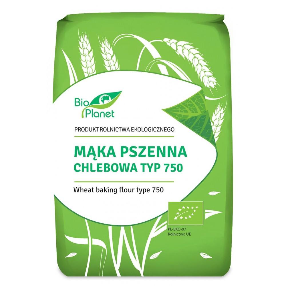 Bio Planet mąka pszenna chlebowa typ 750 BIO 1kg