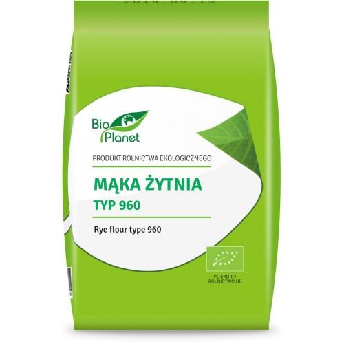 Bio Planet mąka żytnia typ 960 BIO 1kg