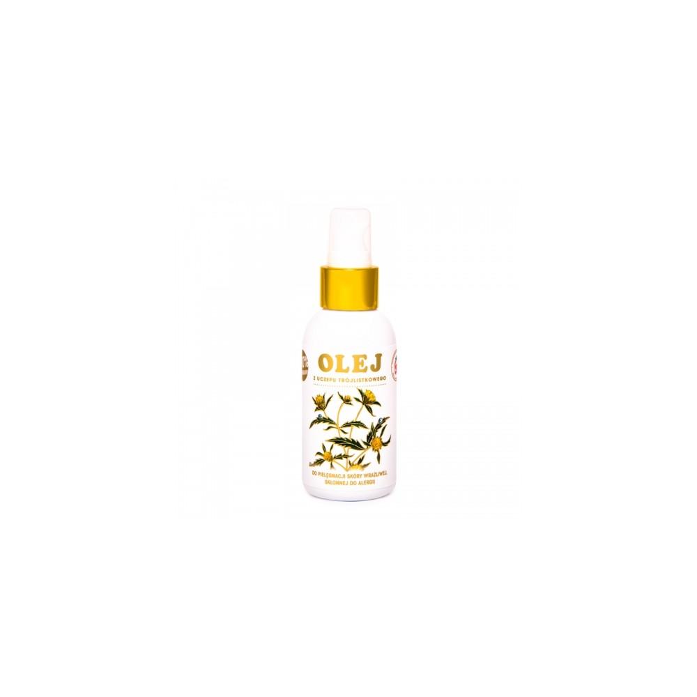 Olej z Uczepu Trójlistkowego 100ml - NAJSKUTECZNIEJSZY PRZY ZMIANACH SKÓRNYCH