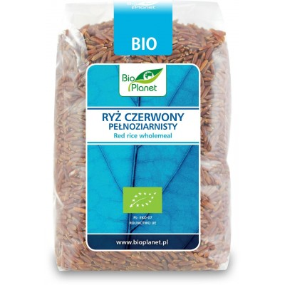 Bio Planet ryż czerwony pełnoziarnisty BIO 400g